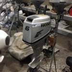 Motore fuoribordo Honda 6 cv